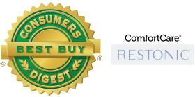 Consumer Digest Best Buy Comfort Care Logo